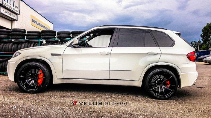 Name Alpine White Bmw X5 M Showcases Velos