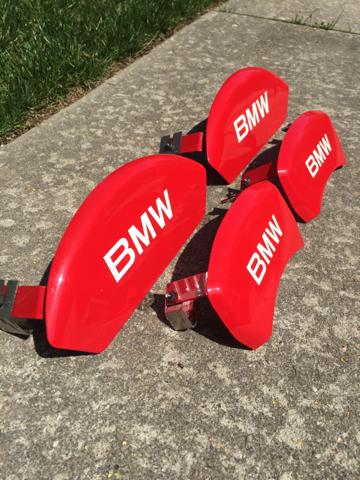 Bmw X6 X5 V8 Red Caliper Covers