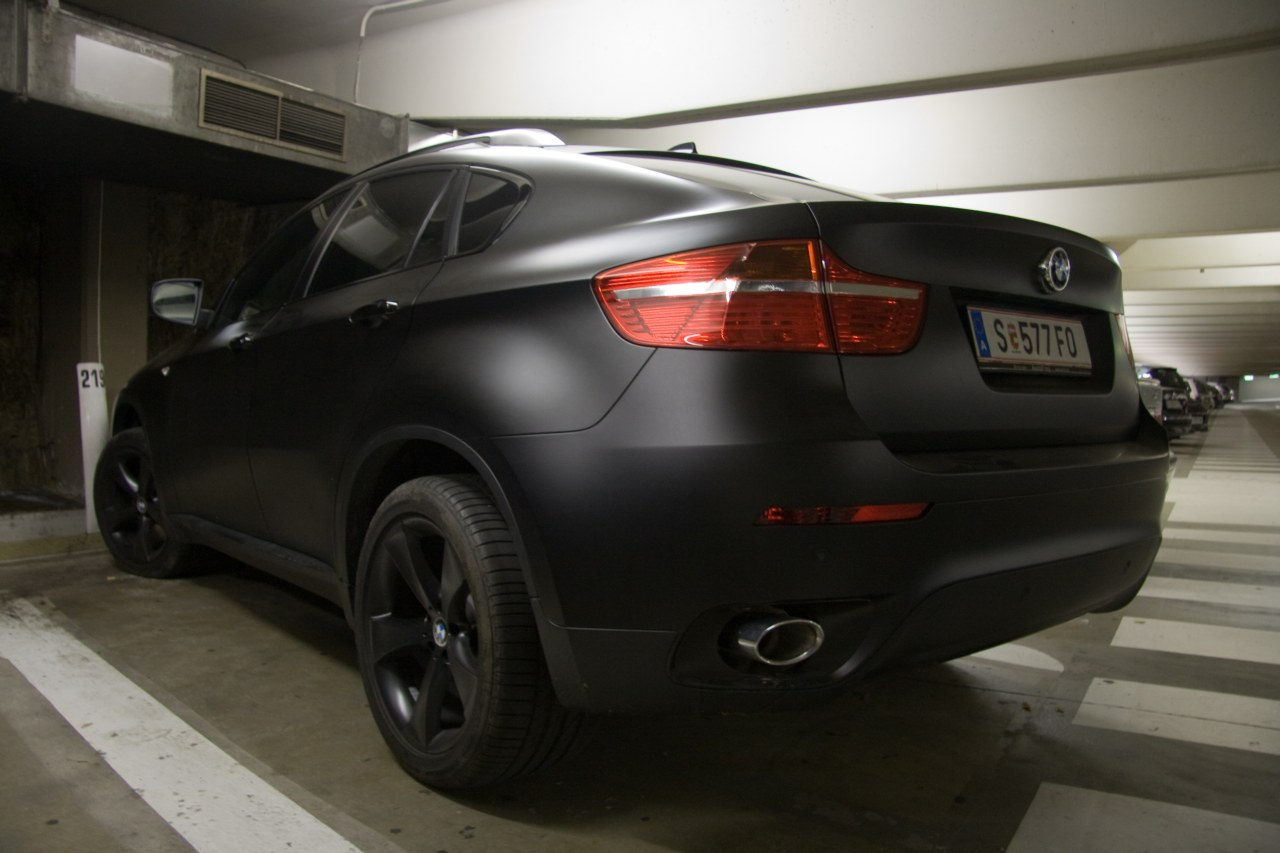X6 Sexyness In Matte Black