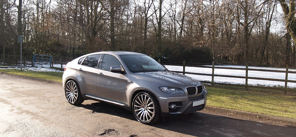 Bmw X6 On 22 Quot Wheels