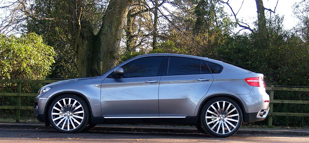 x6 22in bmw x6 on 22 quot wheels  #10