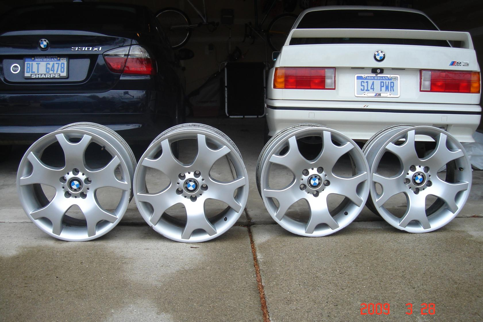 """Bmw Rims Style >> 19"""" OEM Style 63 Staggered Wheels"""