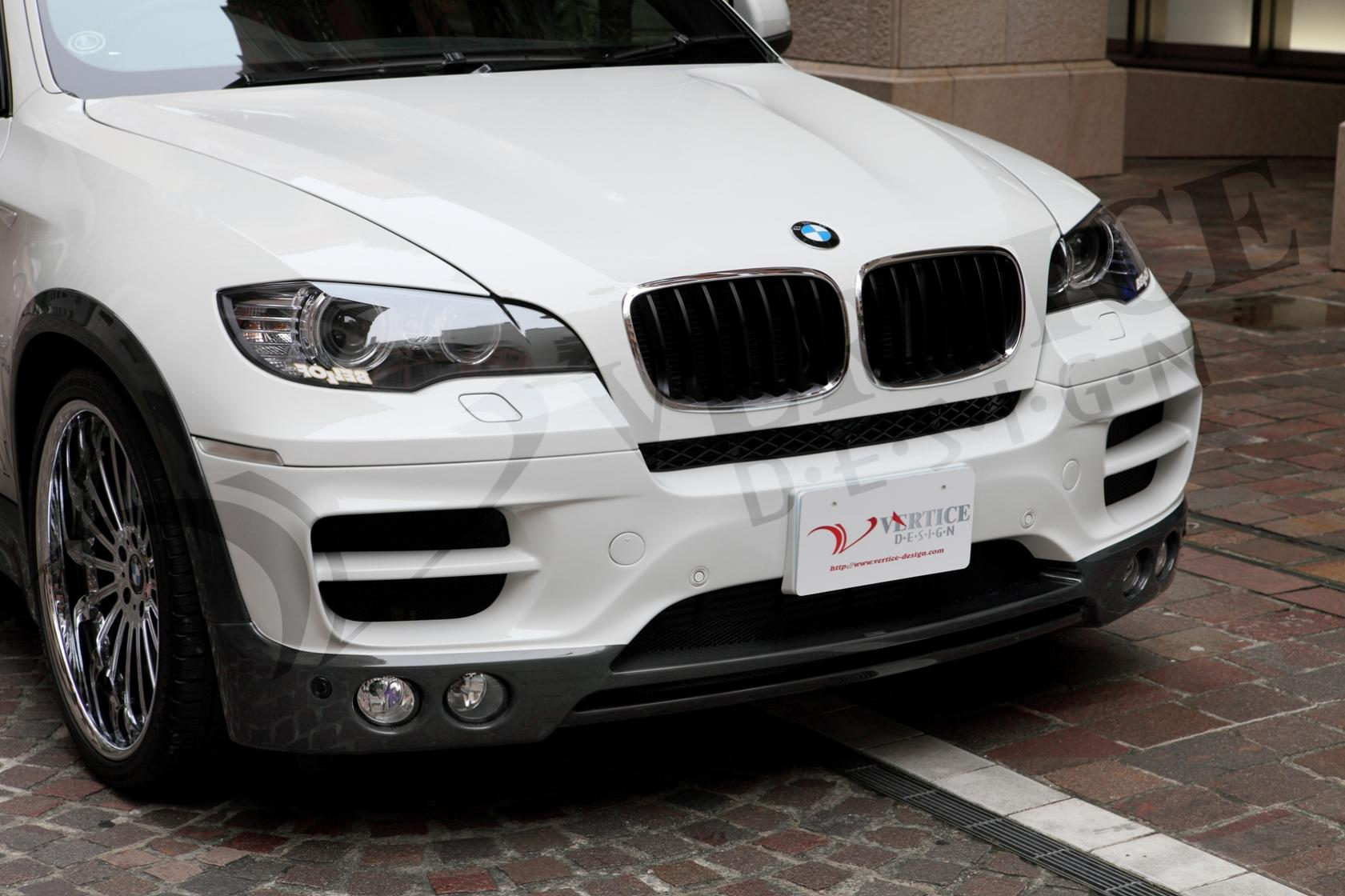 Vertice Bmw X6 Body Kit From Japan