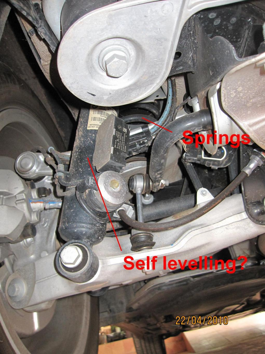 Bmw X6 Suspension Question