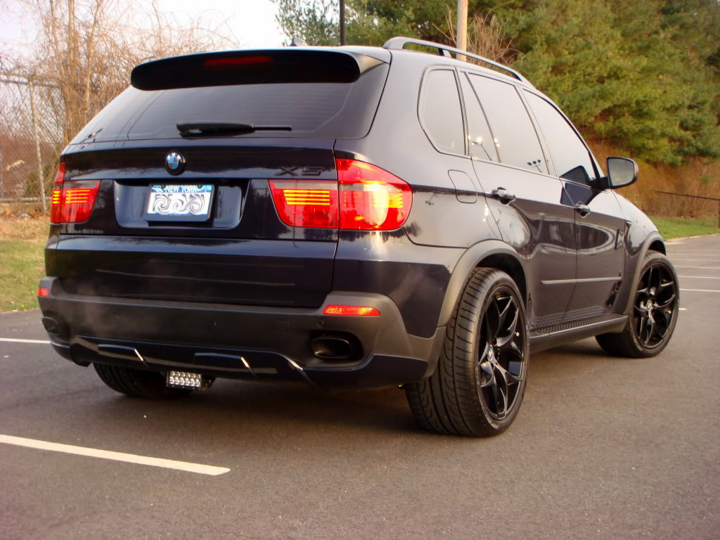 2010 X5 4.8sport - lowered and dechromed