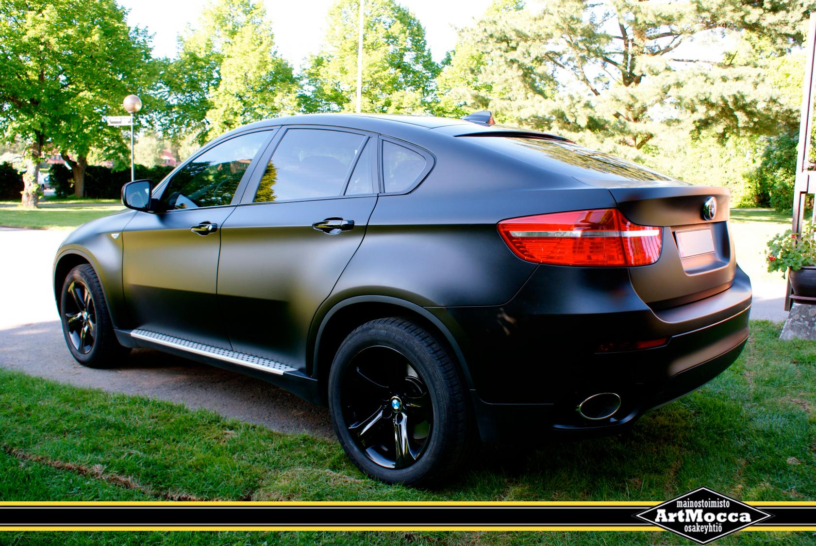 Matte Black Bmw X6 Sale