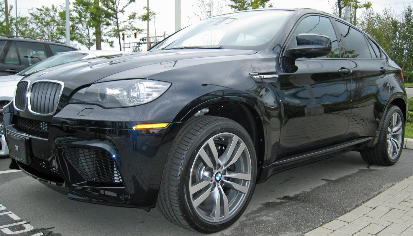 Carbon Black Or Alpine White X6 M