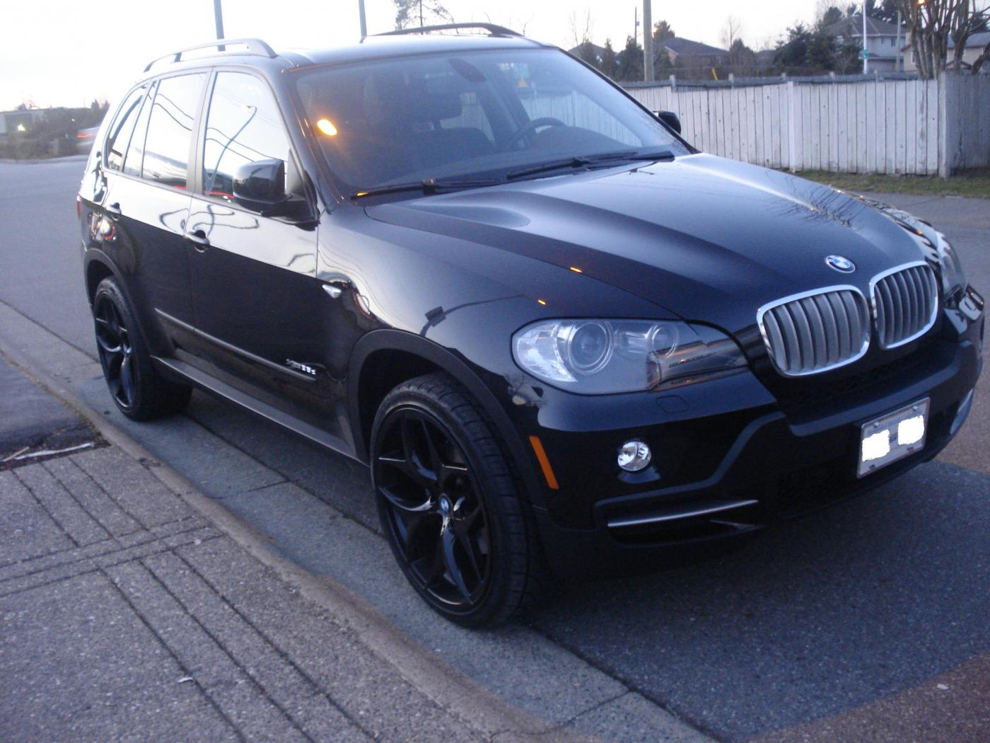 BMW X5 35d Black on Black