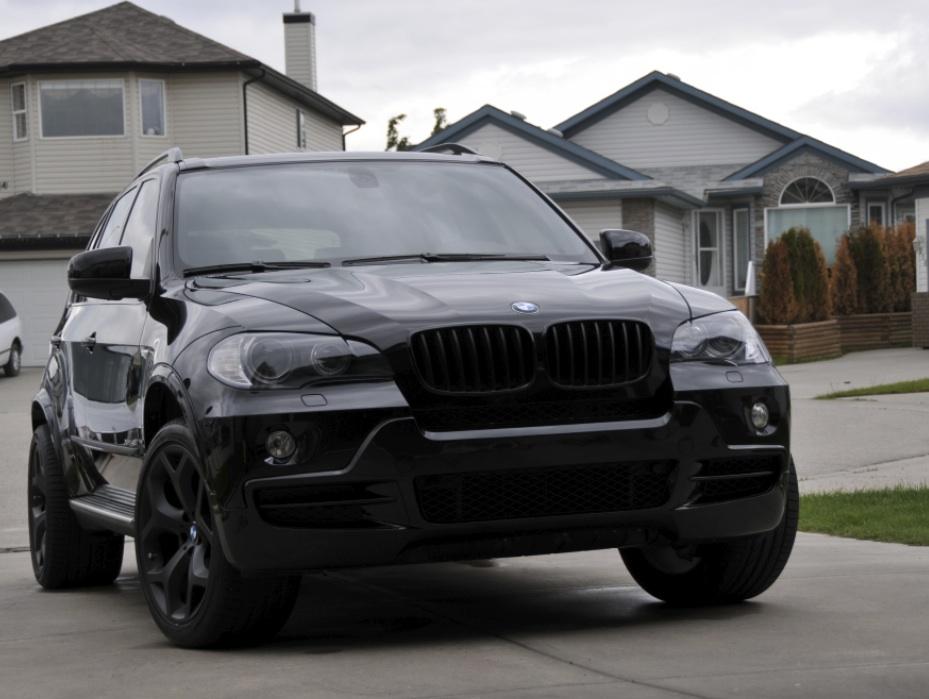 garage ac ideas - Black in Black E70