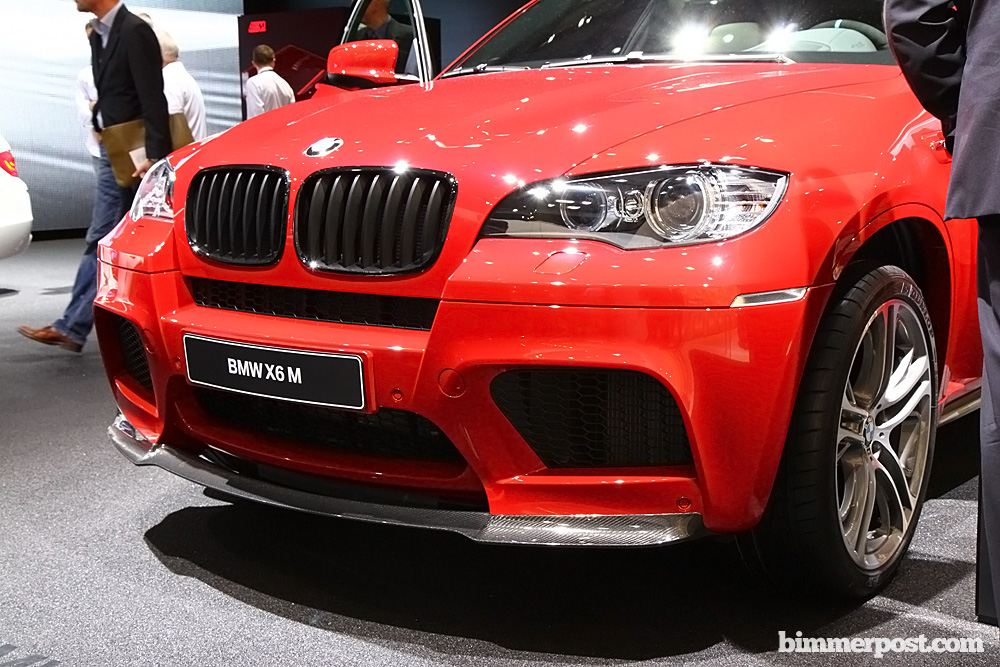 2011 Frankfurt Bmw X6 M Performance Parts Debut