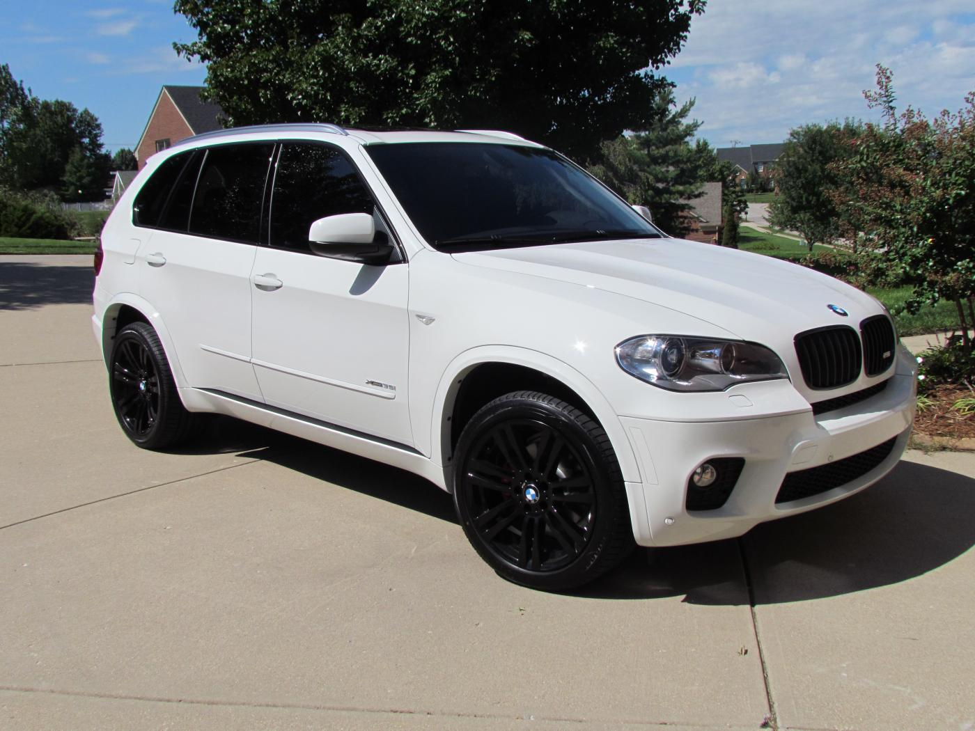 Bmw X5 White With White Wheels