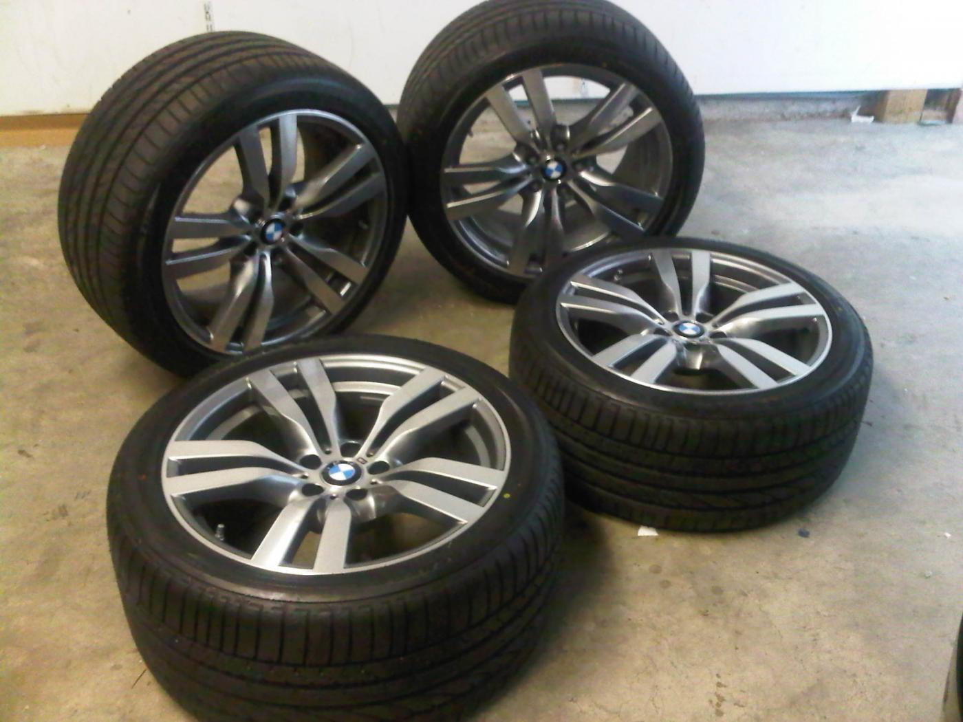 Brand New Take Offs 2012 Bmw X6m Wheels With Tires Amp Sensors