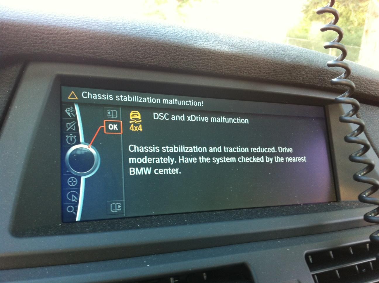 4x4 warning light bmw x5 autos post