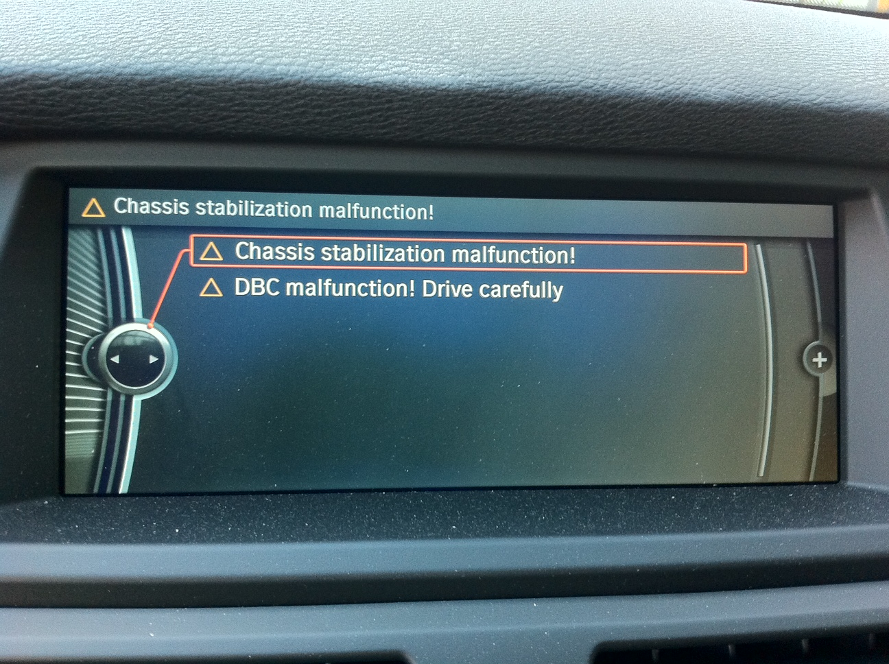 Dsc And Xdrive Malfunction