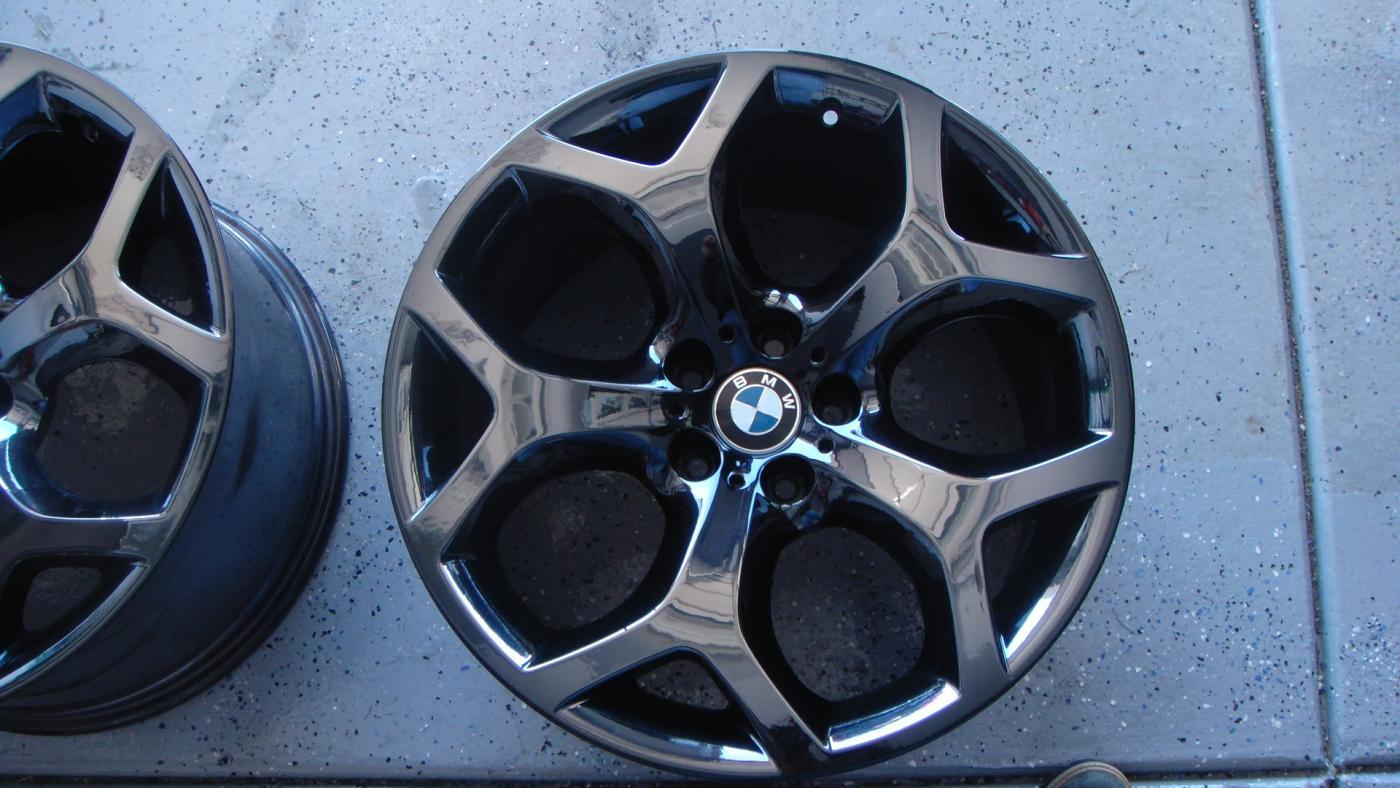 X5 E70 Black Chrome Wheels