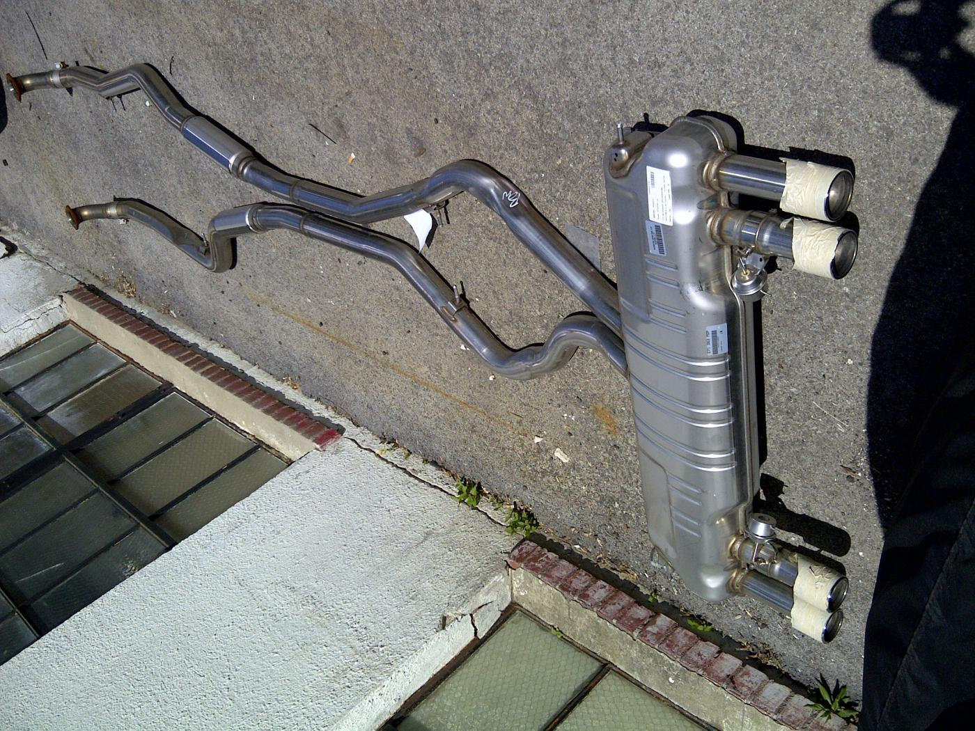 Exhaust For X5 X5m X6m X6 Full System