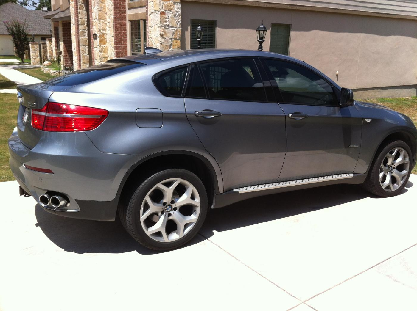 2014 Bmw X6 Gray 200 Interior And Exterior Images