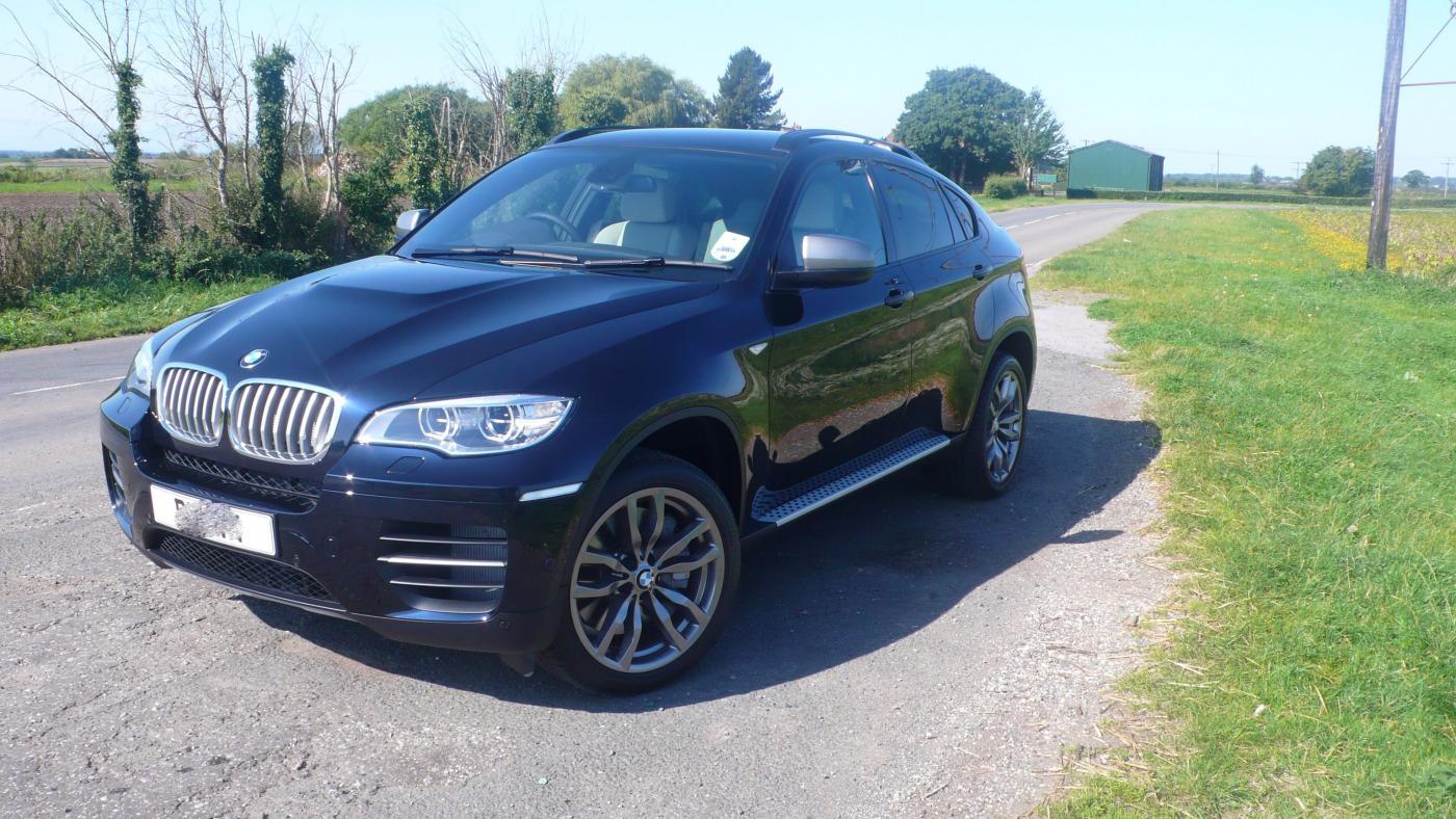 My New X6 M50d Carbon Black
