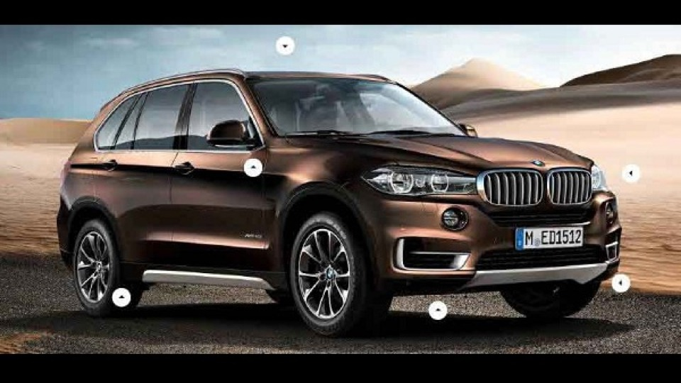 2014 BMW X5 (F15) Order Guide Reveals Lines, Options and Packages