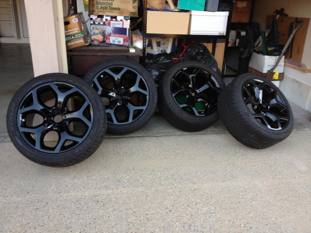 Oem X5 20 Quot 214 Wheels In Gloss Black With Dunlop Tires