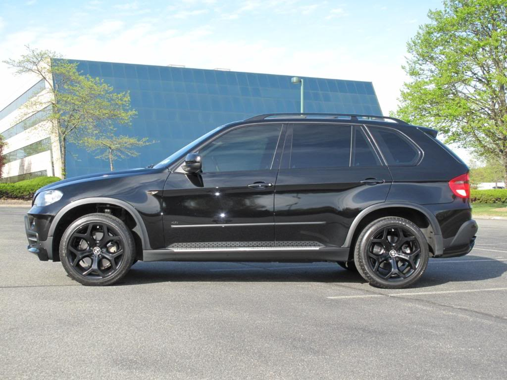 OEM X5 20 214 Wheels In Gloss Black With Dunlop Tires