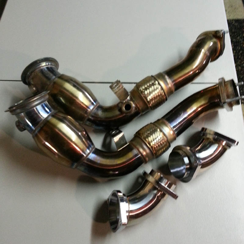 FS: Agency Power Resonated Catless Downpipes For X5M/X6M