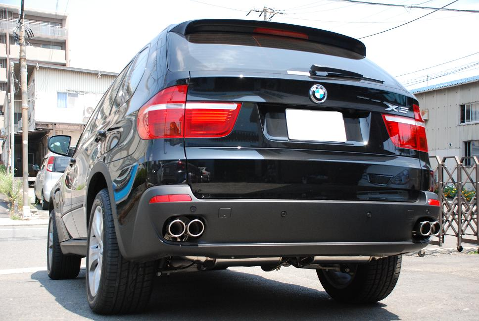 Stainless Exhaust For E70 X5 3 0 Si