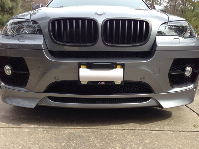 Front Spoiler For Bmw X6 By Srs Tec