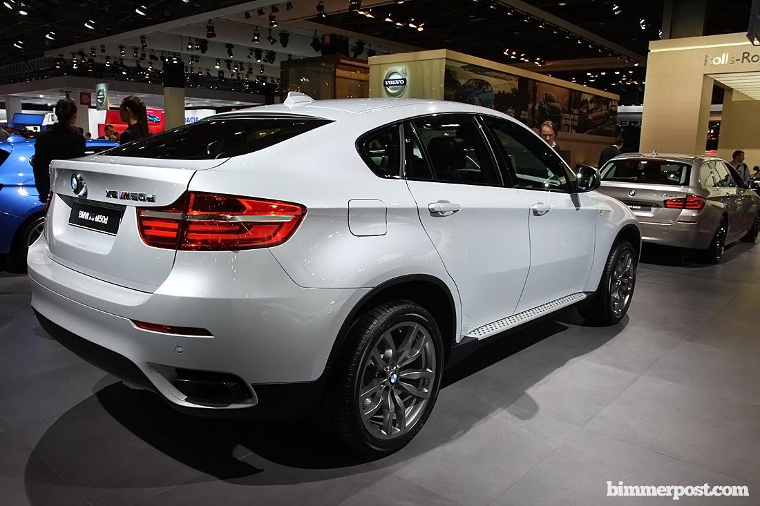 Paris 2012 BMW X6 M50d Individual