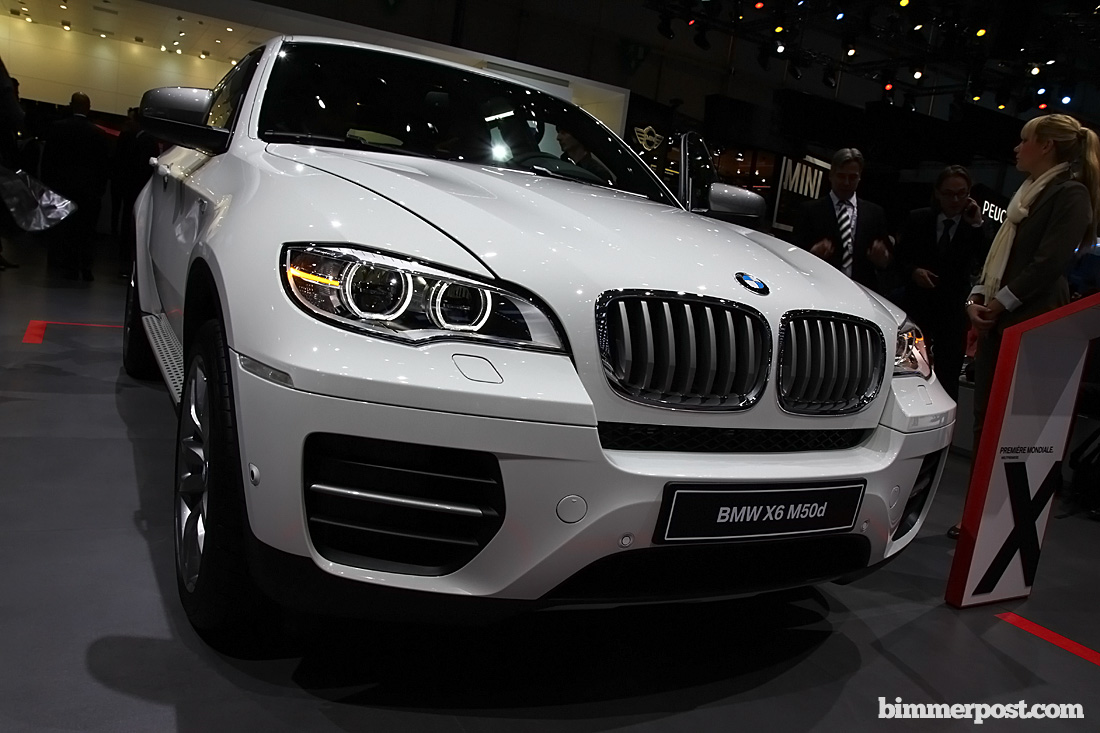2012 geneva bmw x6 m50d world premiere. Black Bedroom Furniture Sets. Home Design Ideas
