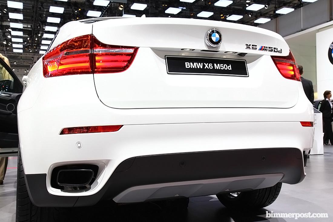 2012 Geneva Bmw X6 M50d World Premiere